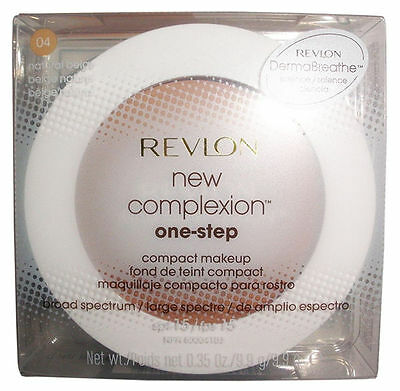 Revlon New Complexion One Step Compact Makeup -04 Natural Beige