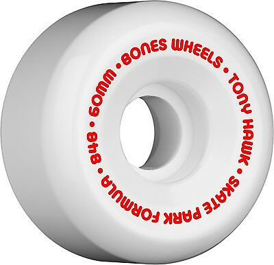 Bones - Hawk Mini Cube White 60MM 84B P5 SPF Skateboard Wheels