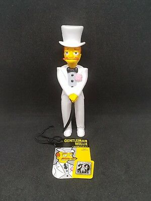 GENTLEMAN WILLIE Limited Edition Figurine Collection Season 17 Ep 12 SIMPSONS