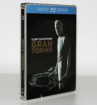Gran Torino [Clint Eastwood] [Steelbook Limited Edition Blu Ray] Fuori Catalogo