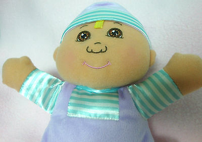 Cabbage Patch CPK~Ethnic~BABY'S 1st DOLL~RATTLE+CHIMES~Darker Skin Tone~LOVEY