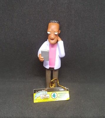 CARL Limited Edition Figurine Collection Series 4 The Simpsons Toy New