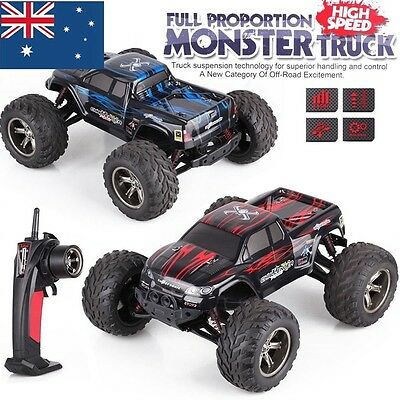 1/12 RC Monster Truck Off Road Remote Control Car High Speed Racing Electric Toy