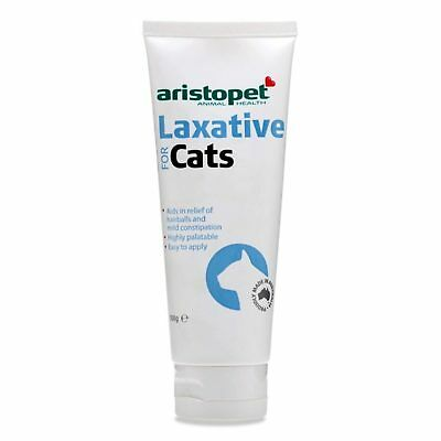 Aristopet Laxative Paste 100g Cat Kitten Natural Constipated Constipation