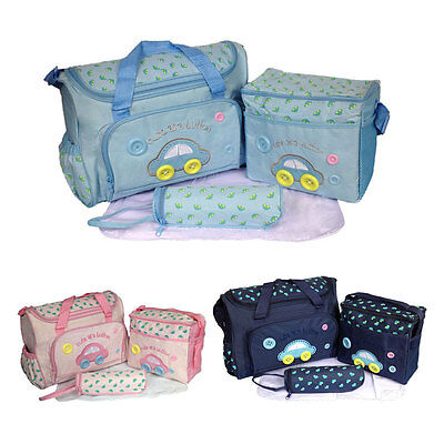 3pcs Strong Mummy Bag Hot Mother and Child Travel Package Luiertas Nappy Bags