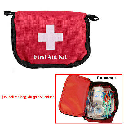 Mini Outdoor Camping Hiking Bag Emergency Survival Travel First Aid Kit *