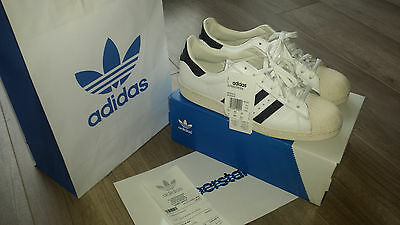 """Adidas superstar 80"""" pour homme, taille 44 -  neuves -"""