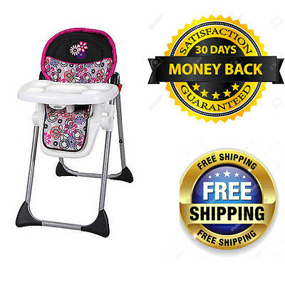 Baby Trend Sit Right High Chair, Floral Garden  090014015480
