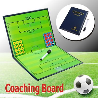 A4 folder Magnetic Football Coaching Board/Tactics Folder With Pen