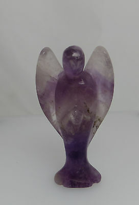 Carved Stone Ornament - Angel - May Interest Collectors Of Amethyst Blue John ?