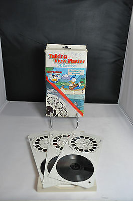 Talking View-Master 3D Cartridges Donald Ducks Vacation