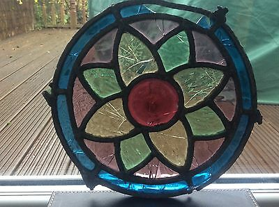 Stained Glass circled window