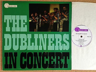 THE DUBLINERS In Concert TRANSATLANTIC RECORDS TRA 124