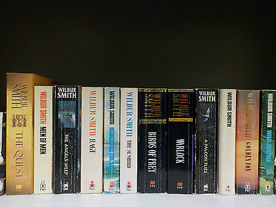 Wilbur Smith - 12 Books Collection! (ID:42062)