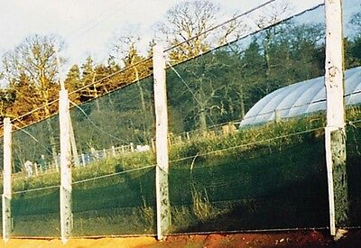 Windbreak Knitted Netting 1 x 50m Shade Protection Mesh Wind Livestock Fencing