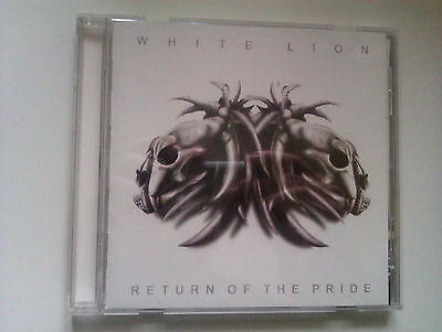 WHITE LION -RETURN OF THE PRIDE-CD Japanrel.w.OBI,2nd bookl..,Sticker & bonustra