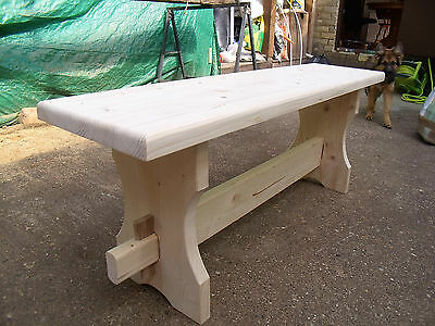 Wooden Solid Pine/not Oak/ Bench Seat