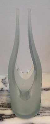 Artecnica Transglass Cut Vase Sculpture