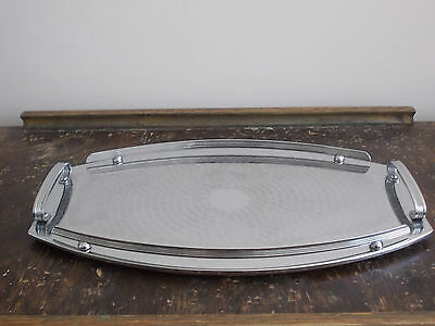 Collectable Ranleigh Uniquely Shape Stainless Steel Serving Tray