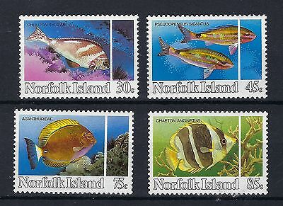 Norfolk Island 1984 REEF FISH MINT NEVER HINGED POST FREE TO THE UK.