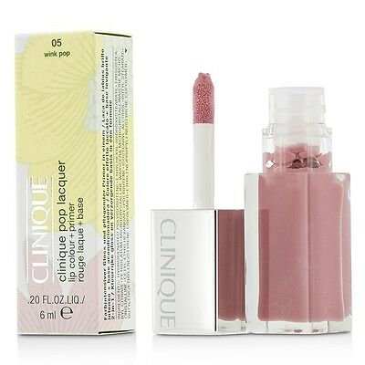 Clinique Pop Lacquer Lip Colour + Primer  - # 05 Wink Pop 6ml Womens Make Up