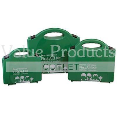 BSI BS8599-1 Premium Compliant Workplace First Aid Kit - Small, Medium or Large