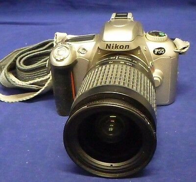 Nikon F55 35mm Camera with 28-100mm Lens