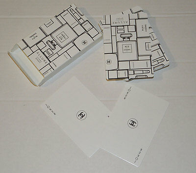 VIP gift from Chanel beauty boutique Deck of playing cards CHANEL N5 NIB