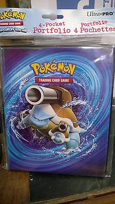 Pokemon XY12 Evolutions 4 Pocket Page Portfolio Album Binder Blastoise Venusaur