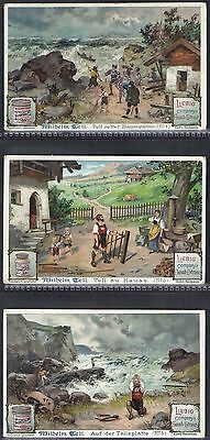 Liebig-*s0634*-Full Set Of 6 Cards- German - William Tell