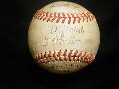 Vintage Rawlings Little League Baseball Leather special Made in U.S.A
