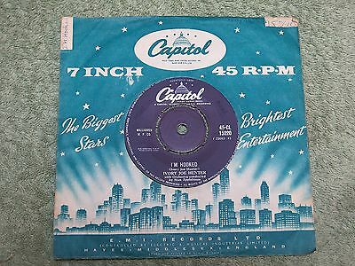 IVORY JOE HUNTER I'm Hooked/because I love you CAPITOL 7-inch 45-CL 15220!
