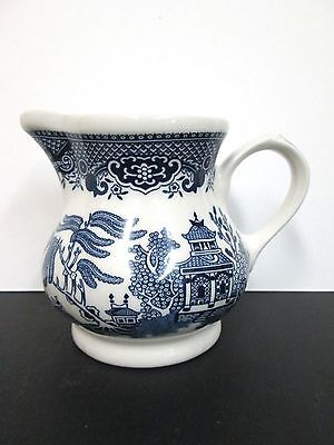 Churchill Blue Willow Creamer and Sugar Bowl Set - 3 Sets  Available