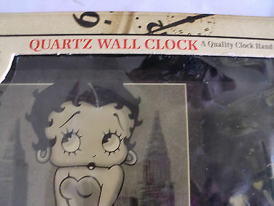 """Betty Boop"" Collector Quartz Wall Clock"