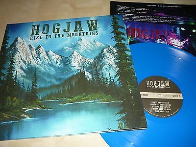 LP HOGJAW Rise To The Mountains BLUE VINYL / US-Southern Rock / Lynyrd Skynyrd