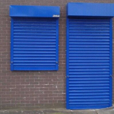 Electric Operation Industrial Roller Shutter Doors - 1700 x 2100mm