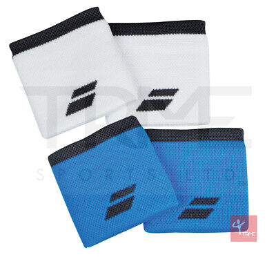 Babolat Logo Wristband Sweatband (2 Pack) - 2 Colours Available