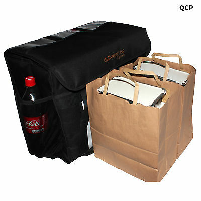 Food Delivery Bag- Hot Or Cold Food- Fully Insulated- Large