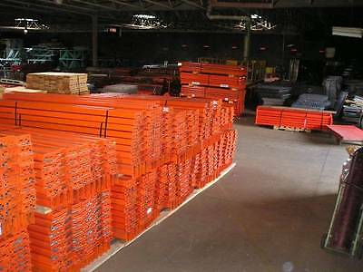 pallet rack racking shelving racks warehouse teardrop steel industrial 12' beams