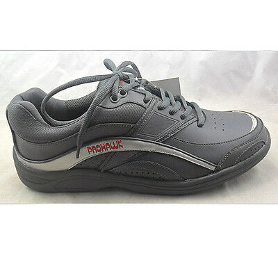 Henselite Prohawk Gents Trainer Style Bowls Shoe - Grey.  Free Postage.