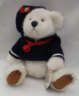 """Vintage Pickford 1996 Brass Button Bears Taylor the Sailor 11"""" Loose NWT #82305"""
