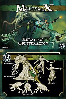 Herald of Obliteration: Tara Crew Malifaux Wyrd Miniatures New in BoxWYR20520