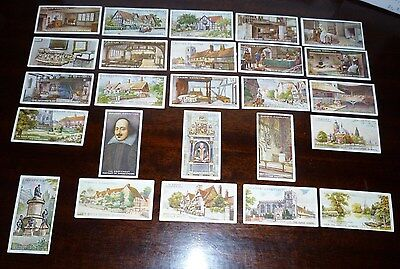 John Player Shakespearean Series. c.1917, Full set of 25 Cigarette Cards