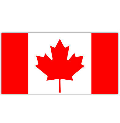 High Quality Large 5ft x 3ft Canada National Flag Canadian Maple Leaf Flag RED
