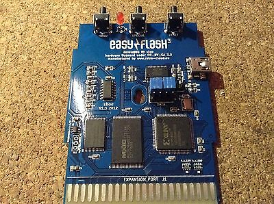 Easyflash 3 cartridge + generic cart case for Commodore
