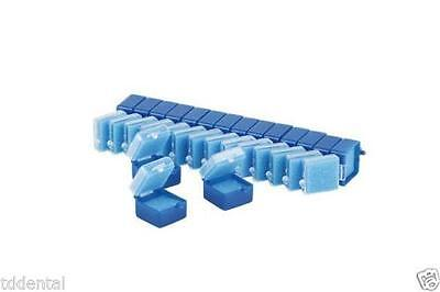 1'' Plastic Boxes - Comes with Foam, Blue Color (1000 Per Package)