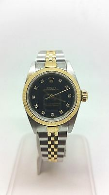 Diamond Rolex Lady Datejust - Steel & Gold - Automatic - Circa 1997