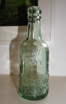 Alnwick Brewery Co Ltd Glass Beer Bottle Redfearns Barnsley Vintage Antique