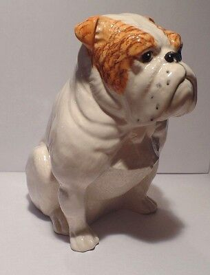 Royal Doulton Seated Bulldog DA222 by Warren Platt