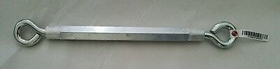 """10"""" (unexpanded) Hex Turnbuckle by National Mfg Co"""